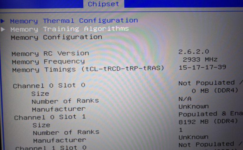 威刚 XPG F1 DDR4 笔记本内存超频测试